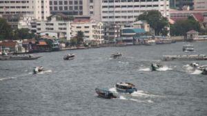 Mae Nam Chao Phraya Fluß in Bangkok