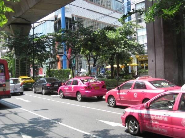 Verkehr in Bangkok ©TK