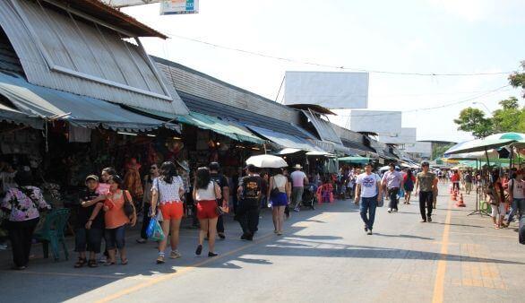 Chatuchak Wochenendemarkt ©TK