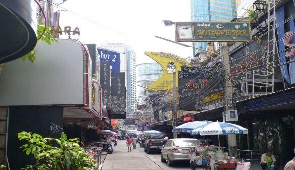 Soi Cowboy in Bangkok