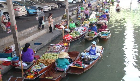Floating Marktes Amphawa