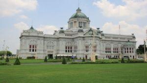 Dusit Park und Anantasamakom Throne Hall