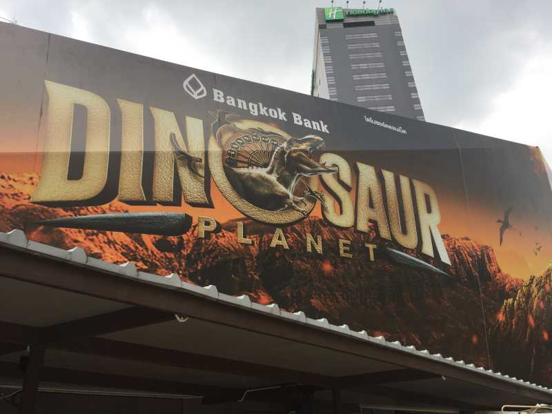 Dinosaur Planet in Bangkok
