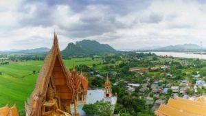 Wat Tham Sua Tempel in Kanchanaburi (Tiger Cave Temple)